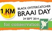 Black Oystercatcher 1km Braai Day for Conservation