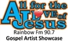 All for the love of Jesus Gospel Artist Showcase