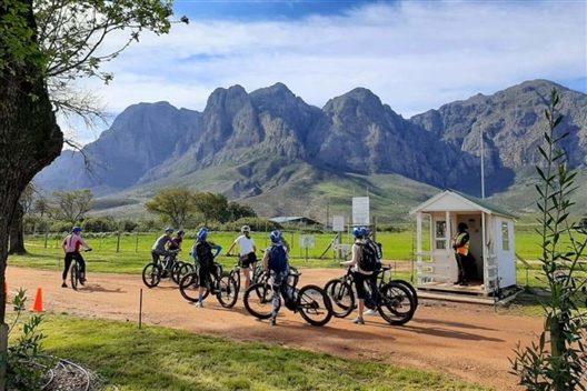 E-bike to Boschendal Ride