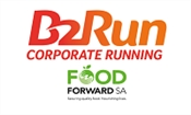 B2Run Johannesburg with Majozi, supporting FoodForward SA