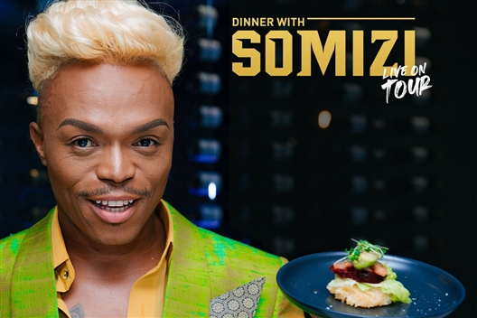 Dinner with Somizi Live On Tour