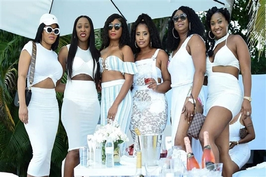 Ultimate Village All White Party Lifestylez