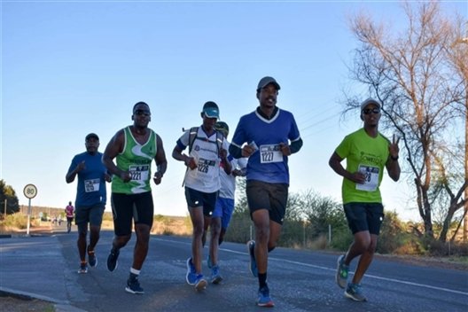 The Great Kolomela Iron Road Race