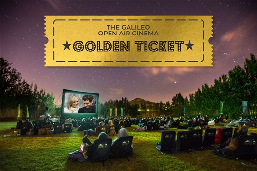 The Galileo Open Air Cinema Golden Ticket
