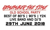 REMEMBER THE TIME – OLD SCHOOL PARTY