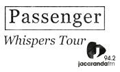 Passenger Live in Johannesburg, Presented by Jacar...