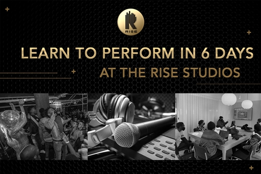 Learn to perform on stage in 6 days - RISE ACADEMY